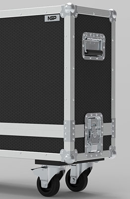 Cicognani Dragon Studio 12 Combo Flight Case
