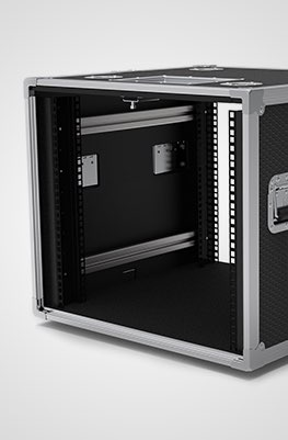 10U Slam and Slide Rack Case